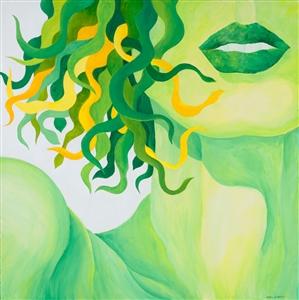 """SPRING Acrylic on Canvas 24"""" x 24"""""""