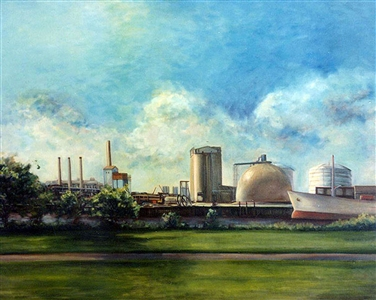 Mystic River Edison Power Plant, Boston