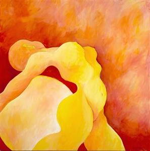 """SUN DANCE Acrylic on Canvas 36"""" x 36"""""""