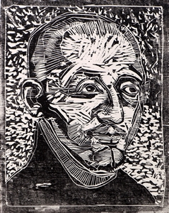 Ignatius v. Loyola, from the cycle 28 faces of the Reformation