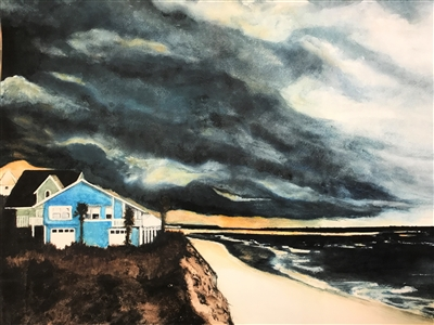 Stormy St Augustine Sunset
