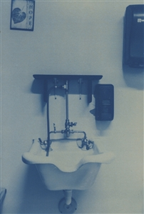 """Hope Cyanotype on Hot Press Water Color Paper 12"""" x 9"""""""