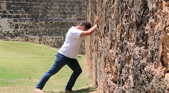 Colonial Wall Push