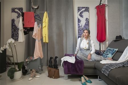 "Iran's Leading Female Fashion Instagram Influencers Digital C-Print 24"" x 35"""