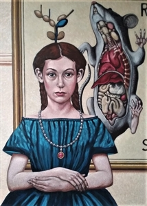 Mademoiselle Éléonore à la Nature morte