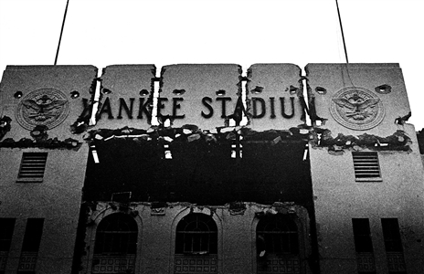 Last Days of Precious Yankee Stadium-The Cracked Facade-January, 1974