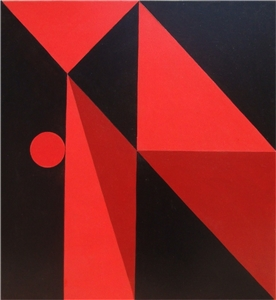 Geometría en Rojo