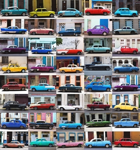 "Colors of Cuba Digital on Fine Art Paper 21"" x 19.5"""