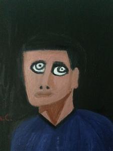 """Portrait 1c Oil on Canvas 18"""" x 24"""""""