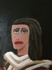 "Karen Oil on Canvas 18"" x 28"""