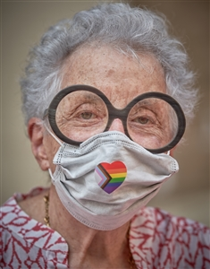 MASKED NYC: Senior Pride, June 28, 2020
