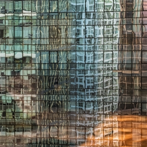 Tom Stahl - Out my Beijing hotel window #4: Reflections Digital, Photography