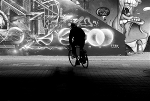 db Waterman - Graffiti Tunnel Archival Pigment Print, Photography